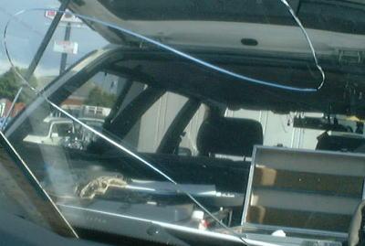 ガラス 修理 フロント 車